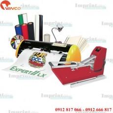 Máy cắt chữ decal bế tem in chuyển nhiệt