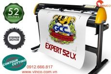 Máy cắt chữ decal GCC Expert 52 LX Đài Loan