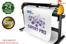 Máy cắt chữ decal GCC Expert Pro Đài Loan