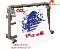 Máy cắt chữ decal GCC Puma Đài Loan