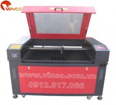 Motorized up and down platform laser engraving and cutting machine RJ-1280S