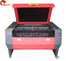 Motorized up and down table laser engraving and cutting machine RJ-1390