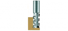 Router bit with 4 principles, 2 cutting adge for point ( LH 0912 817 066 )